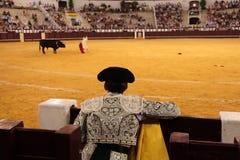 Bullfigter royalty-vrije stock afbeelding
