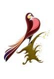 bullfinch птицы иллюстрация штока
