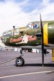 B-25 Mitchell drugiej wojny światowa bombowiec Zdjęcia Royalty Free