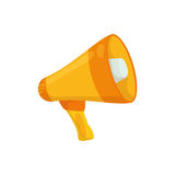 Bullhorn announce device. Icon  illustration graphic design Royalty Free Stock Photo