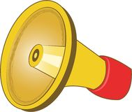 Bullhorn Royalty Free Stock Images