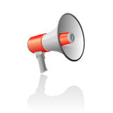 Bullhorn / Megaphone Royalty Free Stock Photography