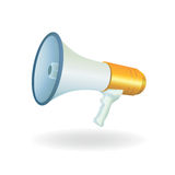 Bullhorn vector Stock Photography