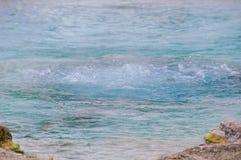 Bullicame Termiczna wiosna blisko Viterbo Włochy Obrazy Stock