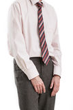 Bullied businessman Stock Image