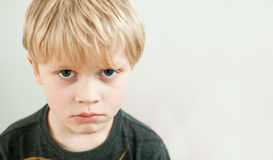 Bullied child Stock Image