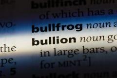 bullion imagem de stock royalty free