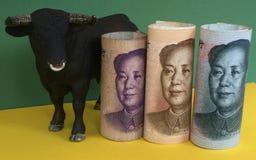 Bullish on Chinese yuan Royalty Free Stock Images