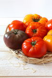 Bullish heart tomatoes Stock Photography