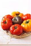 Bullish heart tomatoes Royalty Free Stock Photos