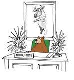 Bullish on Stock Market Stock Photo