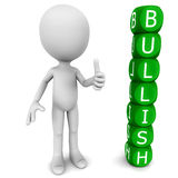Bullish stock market sentiment Stock Images