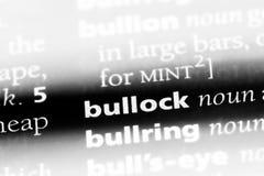 bullock στοκ φωτογραφία με δικαίωμα ελεύθερης χρήσης