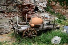 Bullock-carretto Immagini Stock