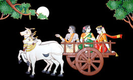 Bullock cart Royalty Free Stock Image