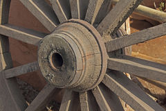 Bullock cart Wheel Royalty Free Stock Photography