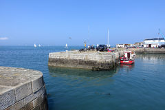 Bullock Harbour, Dublin Royalty Free Stock Photo