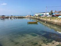 Bullock harbour. View on bullock harbour in Dublin, Ireland Royalty Free Stock Photography