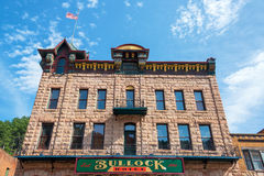 Bullock hotelu fasada Zdjęcie Stock