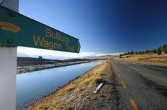 bullock nowy śladu furgon Zealand obrazy royalty free