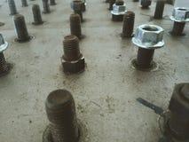 Bullone industriale Fotografia Stock