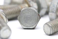 Bulloni del metallo Fotografia Stock