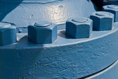 Bulloni del punto di risorgenza dell'olio Fotografia Stock