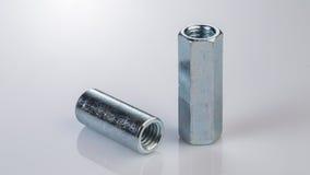 Bulloni e viti del metallo Fotografie Stock