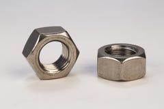 Bulloni e viti del metallo Fotografia Stock