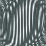 Bullrig kontrast fodrade bakgrunden som belägger med tegel med visuella effekter moire vektor illustrationer