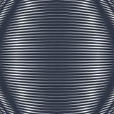 Bullrig kontrast fodrade bakgrunden som belägger med tegel med visuella effekter moire stock illustrationer