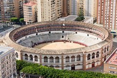 Bullring. In Malaga, Andalucia, Spain Stock Photo