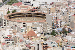 Bullring of Alicante in Spain. Stock Images