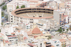 Bullring of Alicante in Spain. Royalty Free Stock Photos