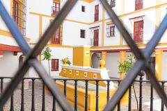 Bullring area in Seville Royalty Free Stock Photo