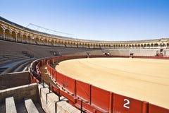 Bullring arena  Plaza de toros Royalty Free Stock Images