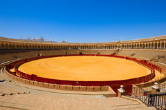 Bullring arena  in Seville, Spain Royalty Free Stock Photography