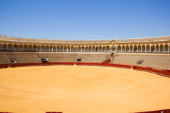 Bullring arena  in Seville, Spain Stock Photography