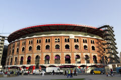 Bullring Arenas. Barcelona Stock Images