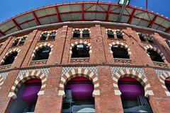 Bullring Arenas de Barcelona, Spain Royalty Free Stock Image