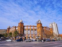 Bullring in Barcelona Royalty Free Stock Photo