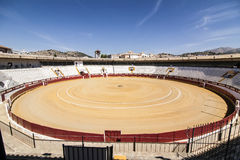 Bullring of Cabra, province of Cordoba, Spain, september 5, 201 royalty free stock image