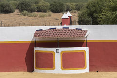 Bullring in the countryside in Seville, Spain Stock Images