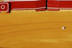 Bullring i bucket. Bullring La Merced - Huelva, Andalusia, Spain Stock Images