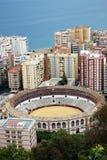 Bullring, Malaga, Espagne Photo libre de droits