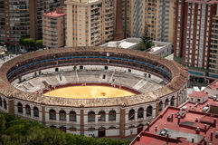 Bullring Malaga Spain Royalty Free Stock Image