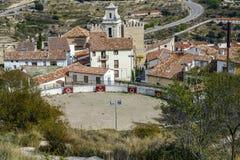 Bullring Morella, Castellon Spain Royalty Free Stock Photo