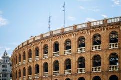 Bullring Plaza de Toros en Valencia, España Fotografía de archivo libre de regalías