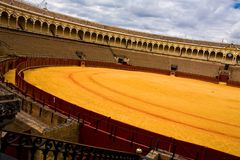Bullring Plaza de Toros in Sevilla Royalty Free Stock Images