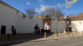 BULLRING of Ronda- ANDALUSIA-SPAIN Stock Photo